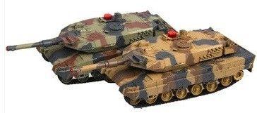 Walczące czołgi Leopard