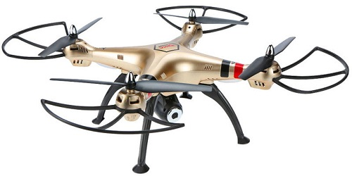 Dron z kamerą przesyłającą obraz online
