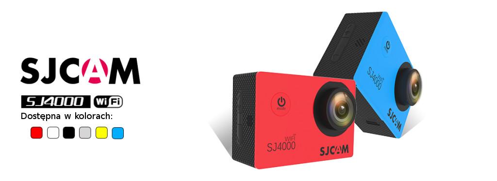 Kamera sportowa SJCAM SJ4000WiFi