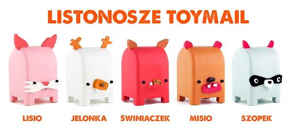 Rodzina listonoszy Toymail