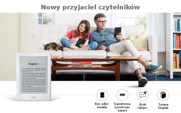 Czytnik Kindle Touch 8