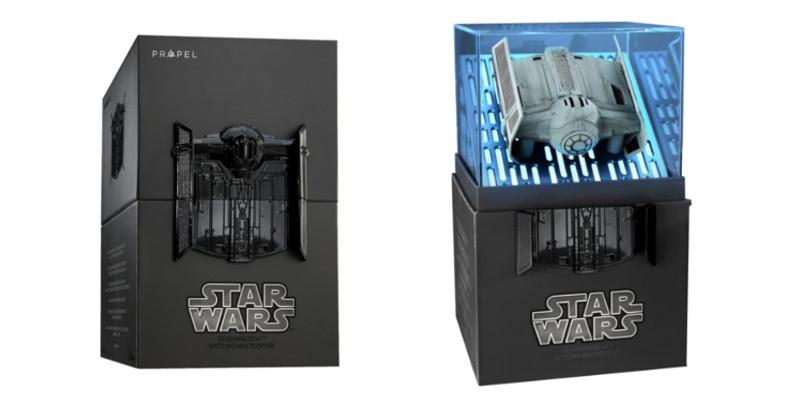 Kolekcjonerskie wydanie drona Star Wars - model Tie Advanced X1