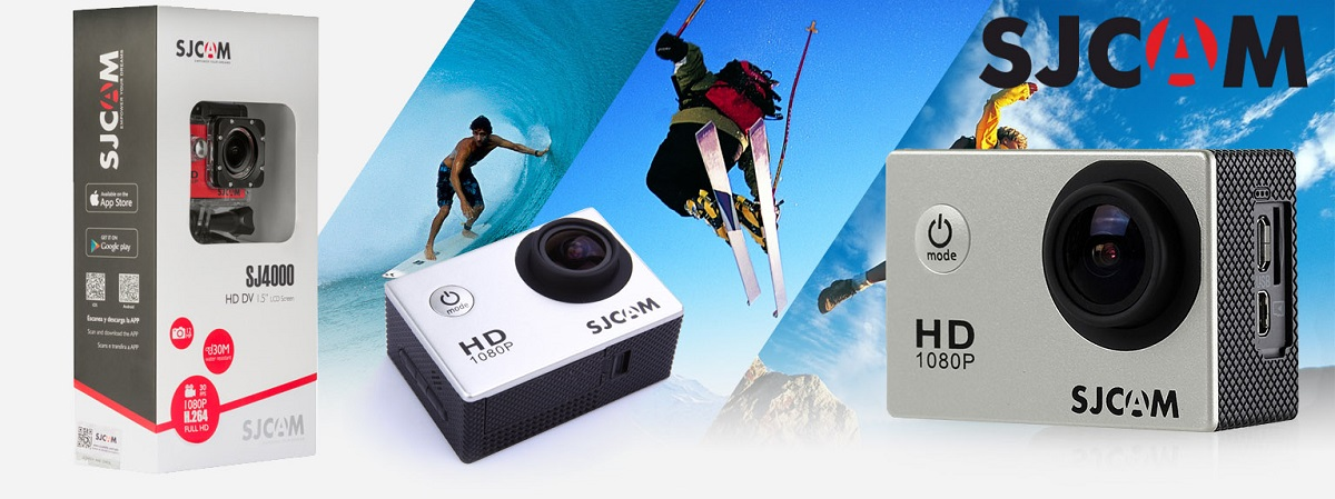 Kamera sportowa marki SJCAM