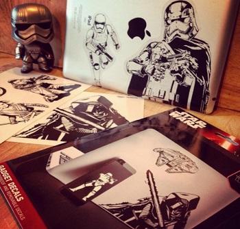 Naklejki Star Wars - kolekcja