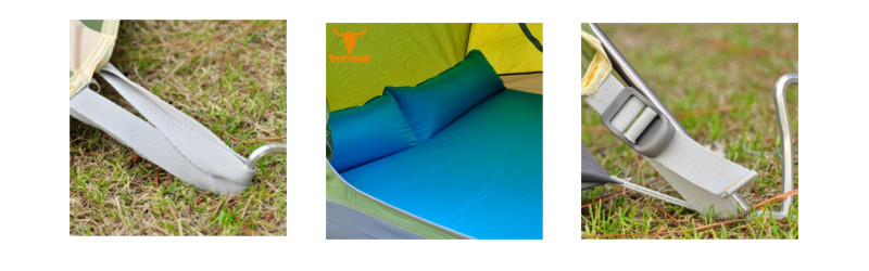 Namiot turystyczny Pekynew IGLO dla 2 osób - zaczepy
