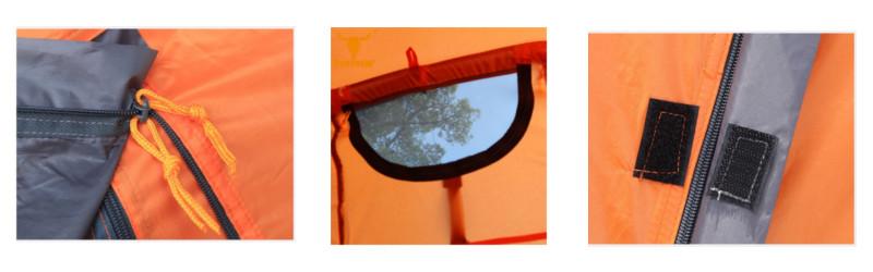Namiot turystyczny Pekynew dla 3 do 4 osób