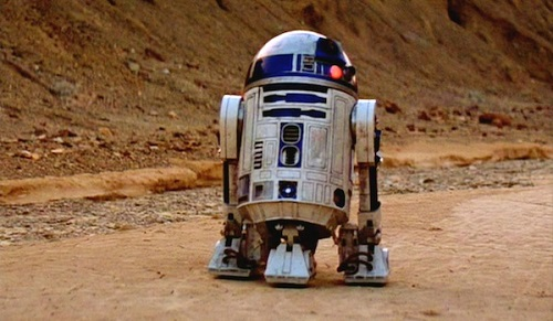"""R2-D2 w """"Nowej Nadziei"""""""