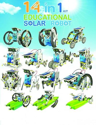 Solarny robot 14 w 1