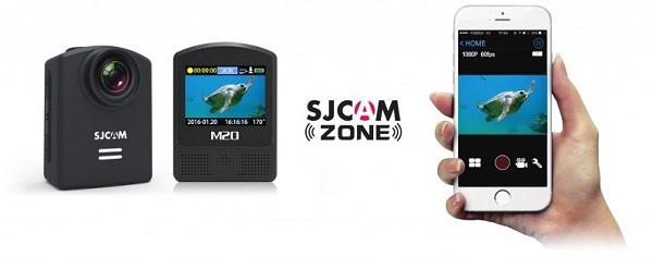 Aplikacja mobilna do SJCAM M20