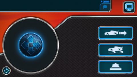 Sphero Zygzak McQueen - opcje sterowania w aplikacji mobilnej