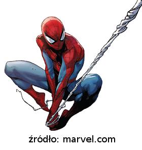 Podstawka pod jajka w kostiumie Spider-Mana