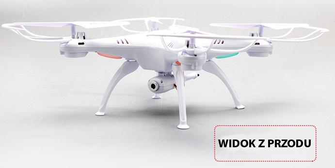 Dron X5SW - widok z przodu