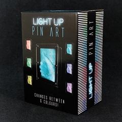 Szpilkowa tablica podświetlana kolorami LED